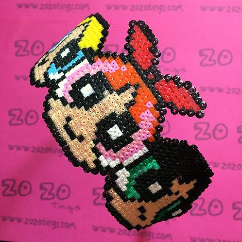 The Powerpuff Girls Pixel Headband