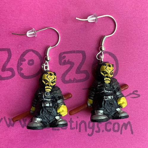 Star Wars Savage Opress Fighter Pod Earrings