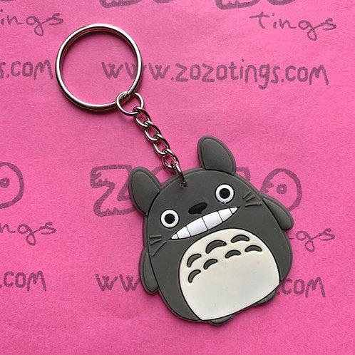 Totoro Rubber Charm Keyring