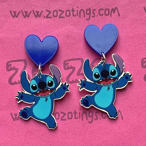 Stitch Stud Earrings