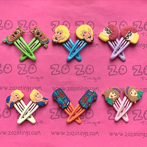 Scooby-Doo Snap Hair Clips