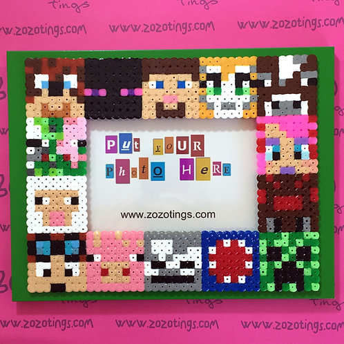 Minecraft All-stars Pixel Photo Frame