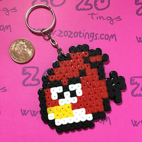 Angry Birds Pixel Keyring