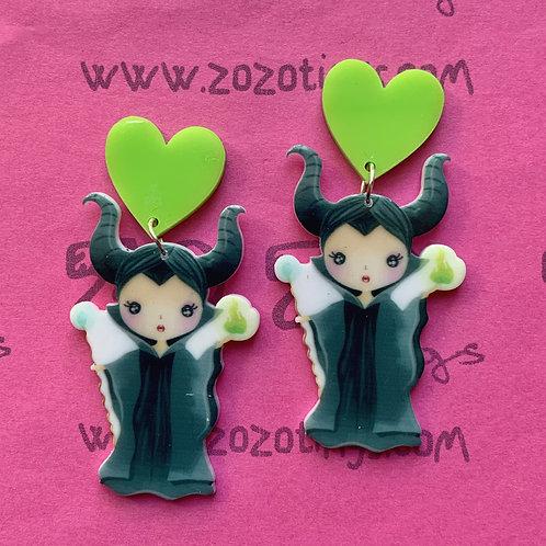 Maleficent Stud Earrings