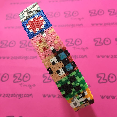 Minecraft Mobs Pixel Headband