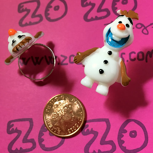Frozen Olaf Rings