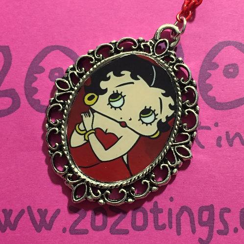 Betty Boop Vintage Pendant
