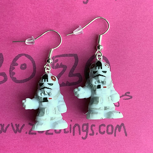 Star Wars AT-AT Pilot Fighter Pod Earrings