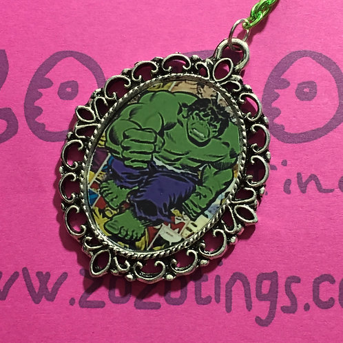The Hulk Vintage Pendant