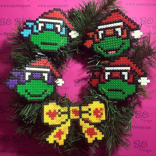 Turtles 'TMNT' Christmas Wreath