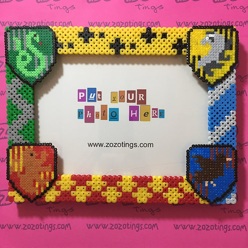 Harry Potter House Pixel Photo Frame