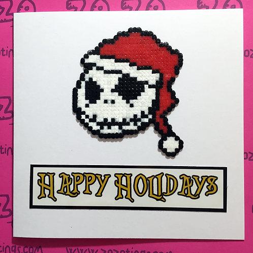 Jack Skellington Happy Holidays Card