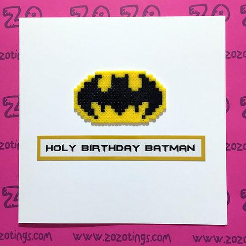 Holy Batman Birthday Card