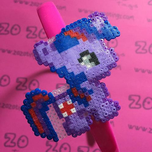 Twilight Sparkle Pixel Headband
