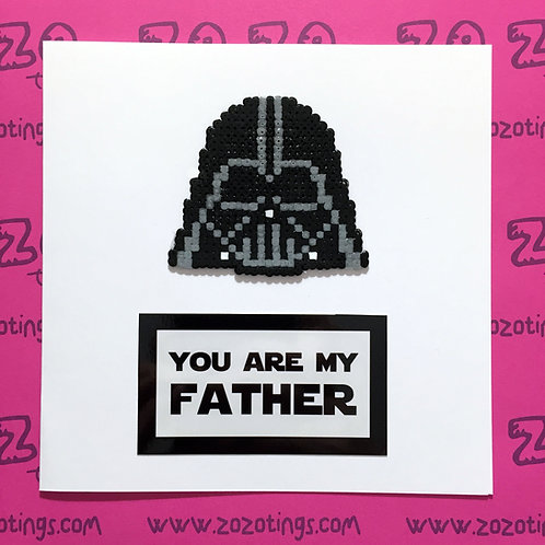 Star Wars Darth Vader Father's Day Card