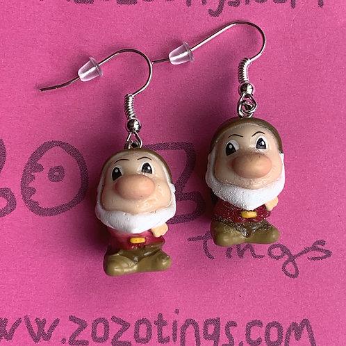 Snow White 'Grumpy' Earrings