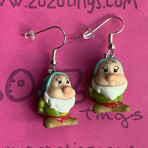 Snow White 'Sleepy' Earrings