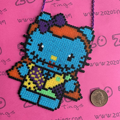 Sally Kitty Pixel Necklace