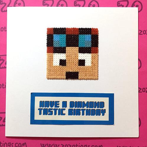 Have A Diamond Tastic Birthday Card