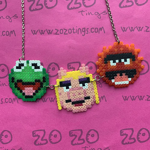 The Muppets Pixel Necklace