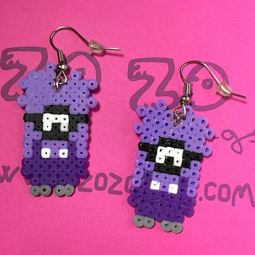 Minion 'Evil' Pixel Earrings