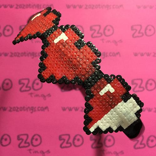 Zelda Hearts Pixel Headband
