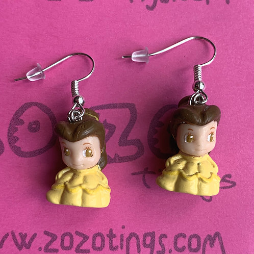 Beauty and the Beast 'Belle' Earrings