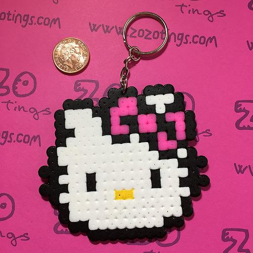 Hello Kitty Pixel Keyring