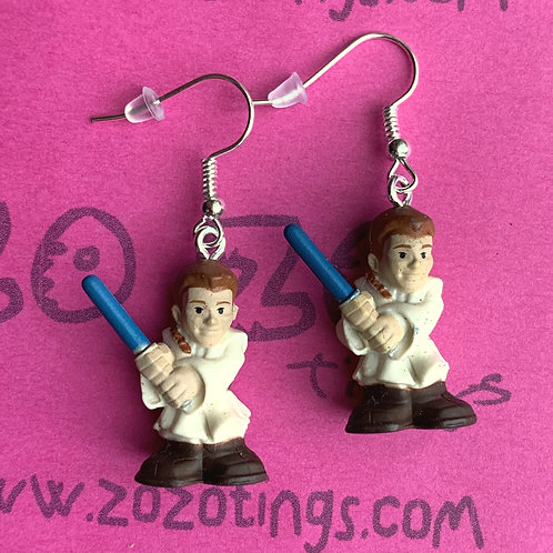 Star Wars Obi-Wan Kenobi Padawan Fighter Pod Earrings