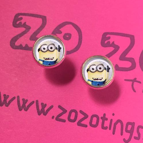 Minion Stud Earrings