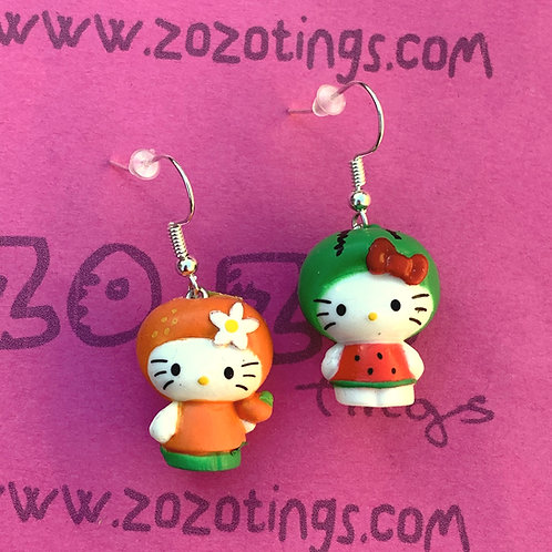 Hello Kitty Hood Earrings