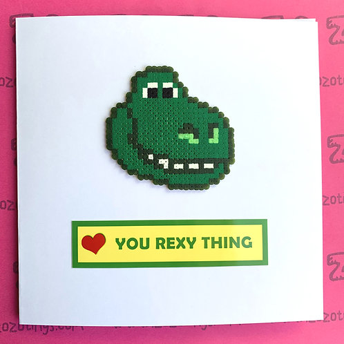Toy Story You Rexy Thing Valentine's Day Card