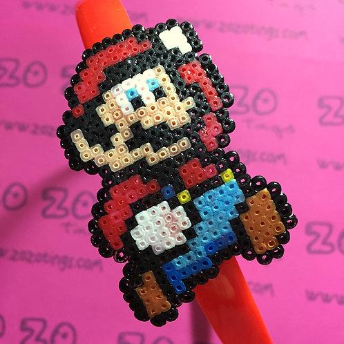 Mario Pixel Headband