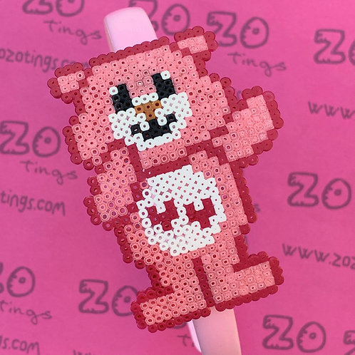 Love-A-Lot Bear Pixel Headband