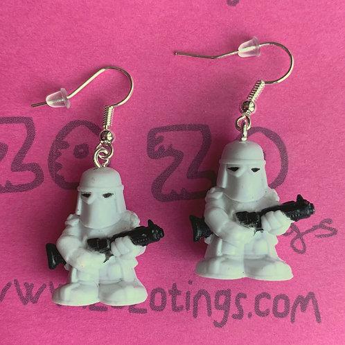 Star Wars Snowtrooper Fighter Pod Earrings