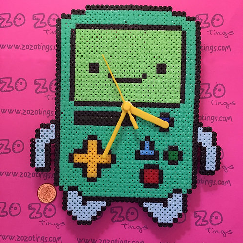 Adventure Time BMO Pixel Clock