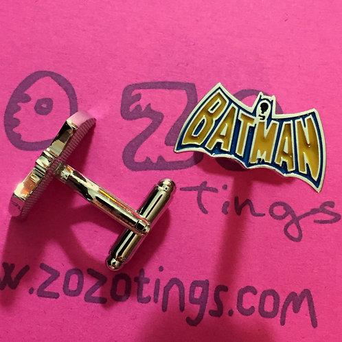 Batman Retro Metal Cufflinks