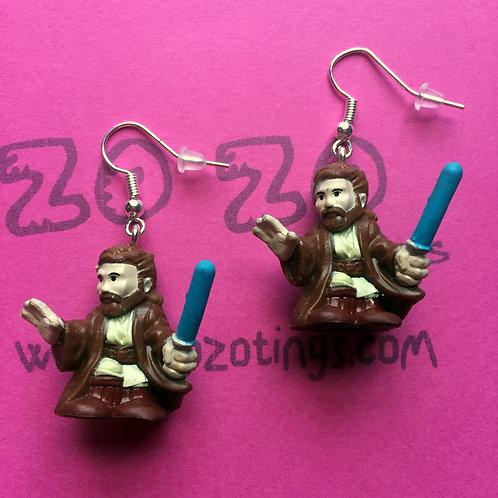 Star Wars Obi-Wan Kenobi Fighter Pod Earrings