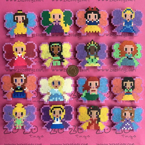 Disney Princess Pixel Hair Bows