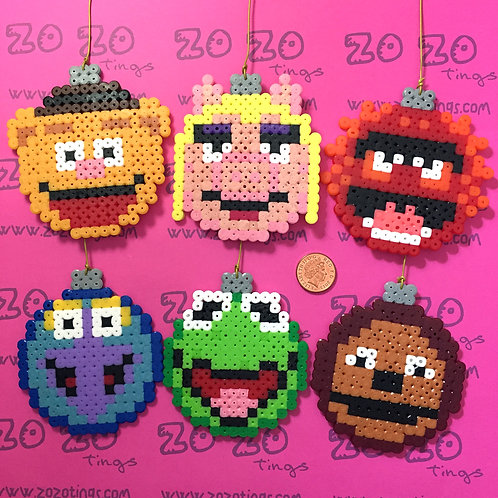The Muppets Christmas Pixel Baubles