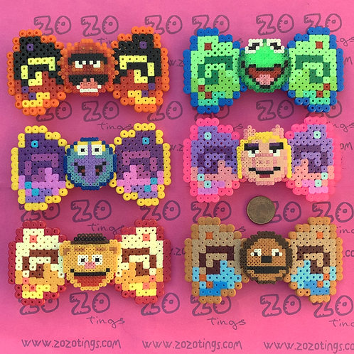 The Muppets Pixel Hair Bows