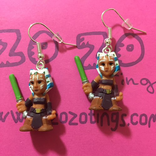 Star Wars Ahsoka Tano Fighter Pod Earrings