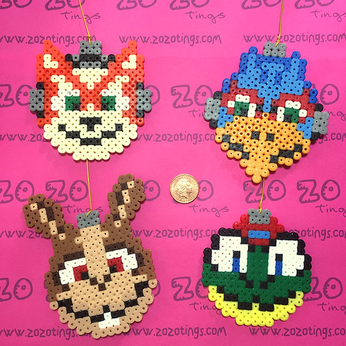 Star Fox Pixel Baubles