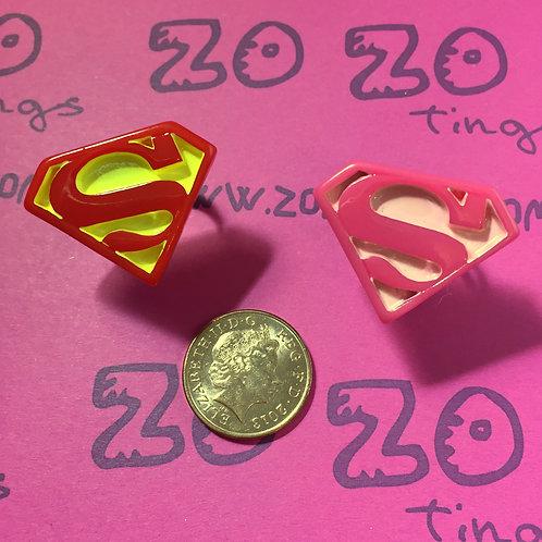 Superman Shield Rings