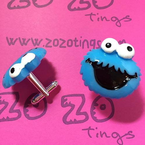 Cookie Monster Cufflinks