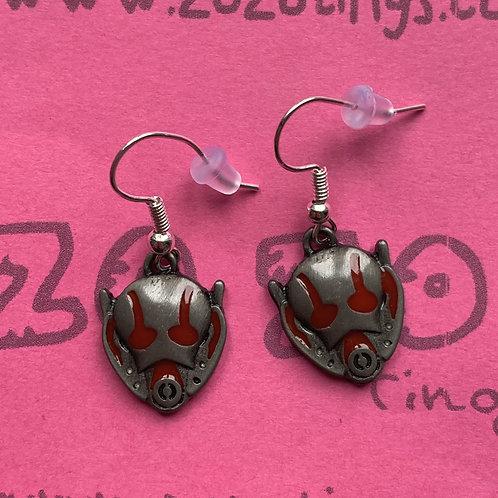 Ant-Man Metal Earrings