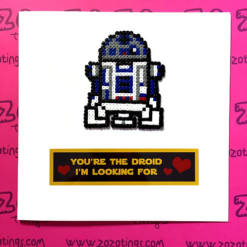 Star Wars R2-D2 Droid I'm Looking For Card