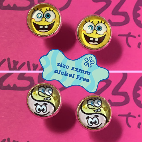 SpongeBob Stud Earrings