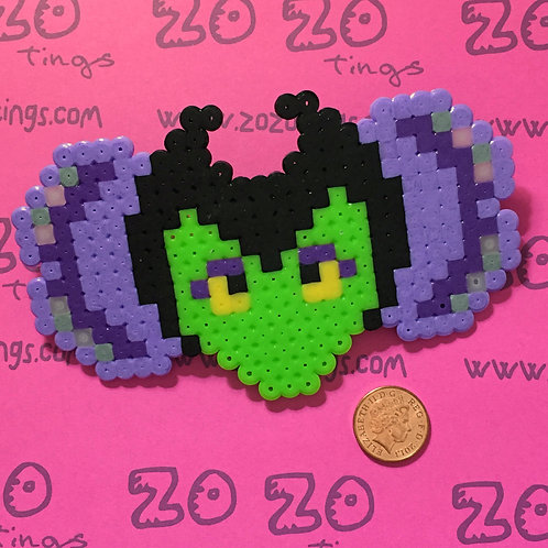 Maleficent Pixel Hair Bow