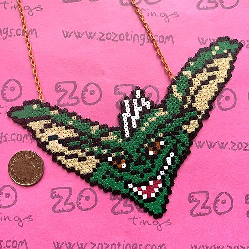 Gremlins Stripe Pixel Necklace